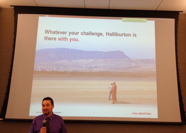 planning function management halliburton company