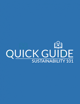 sustainability 101 quick guide