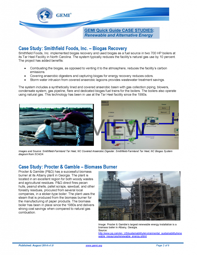 Quick Guide On Renewable And Alternative Energy Gemi Download Biogas Digester Diagram