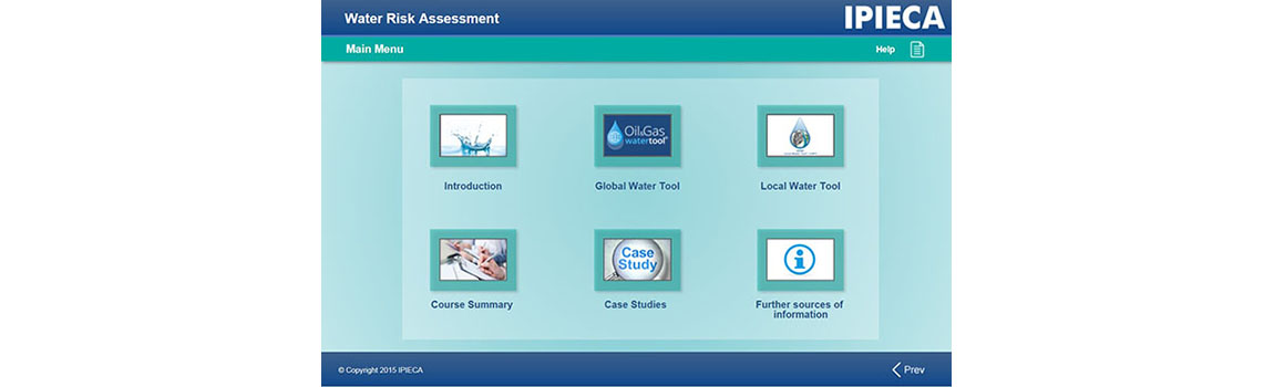 water tools e-learning